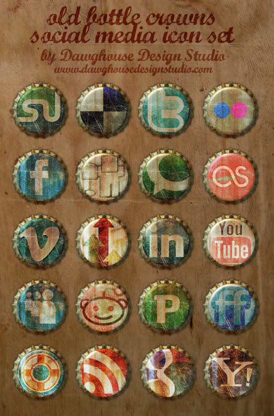 old_bottle_crowns_free_icons