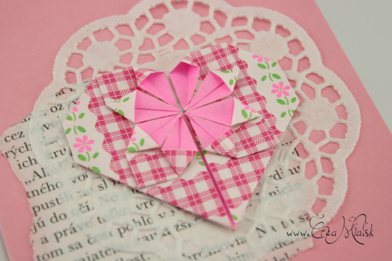 origami heart cards