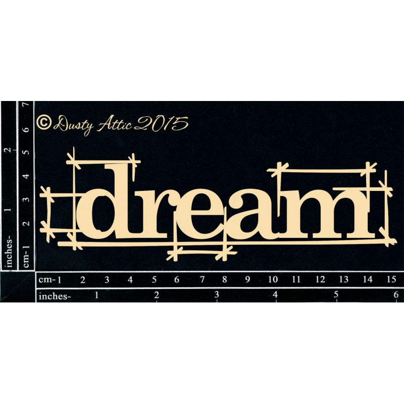 Blueprint DREAM pre scrapbooking / Dusty Attic