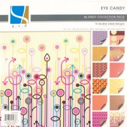 Eye Candy – retro papier na...