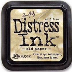 Distress Ink - Old paper /...